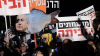 Israeli protesters urge PM resignation over corruption scandals