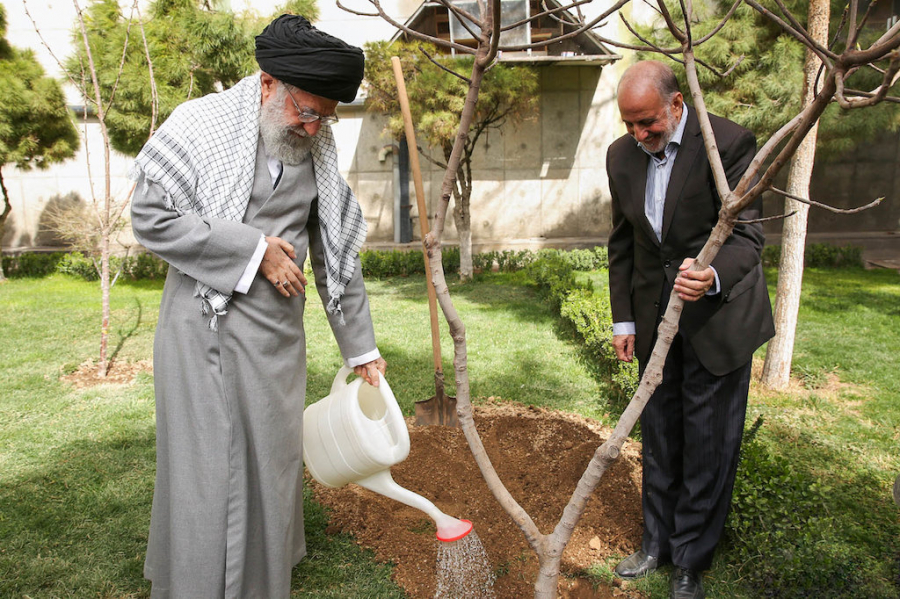 Trees and plants embellish living environments, restore climate: Ayatollah Khamenei