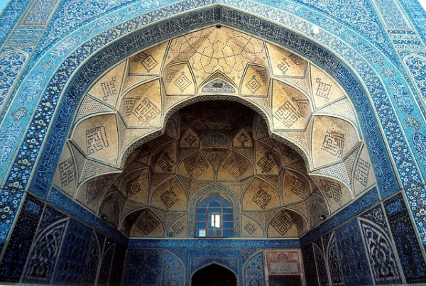 The Great Mosque (or Masjid-e Jameh) of Isfahan
