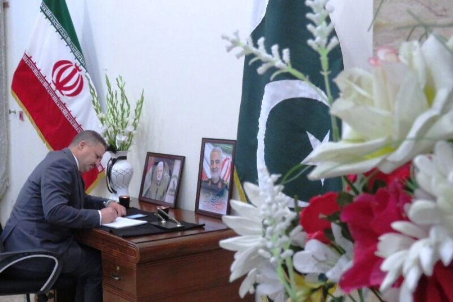 Iran embassy in Pakistan opens condolence book for Gen Soleimani
