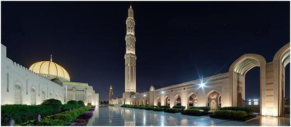 مسجد سلطان قابوس - عمان
